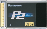 Panasonic P2 HD Cards